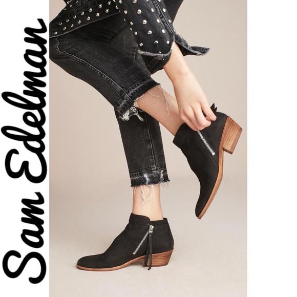 000d42ffa0c35 Sam Edelman Black Packer Ankle Booties. M 5abaf58f1dffda826164a575
